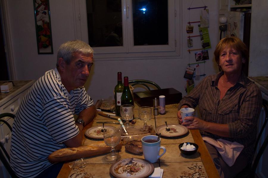 Pascal y MariJo, mi nueva familia francesa.