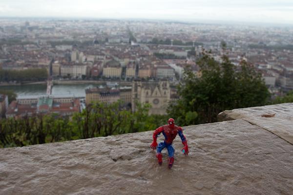 Spidey también estuve en Lyon.