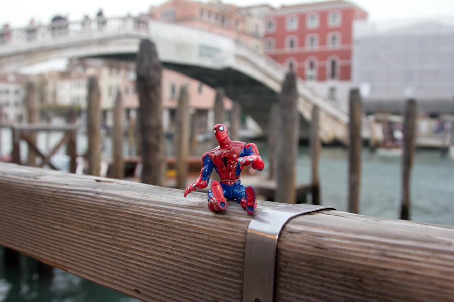 Spidey en Venezia.