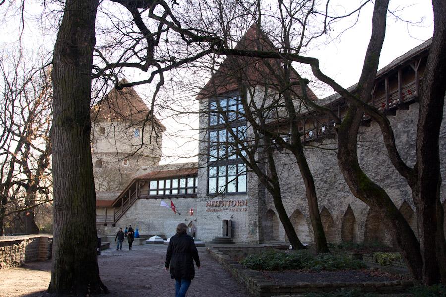 Parte del Tallin medieval.