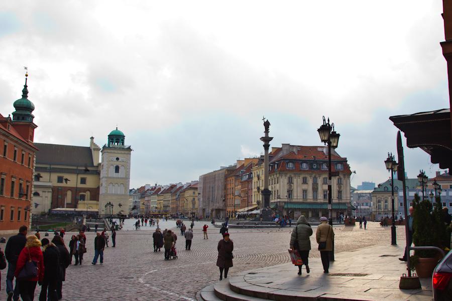 """Parte del """"antiguo"""" centro de la ciudad."""