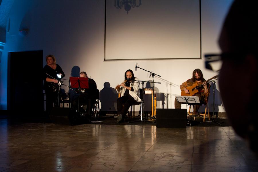 Increible concierto en el museo de historia de Varsovia.