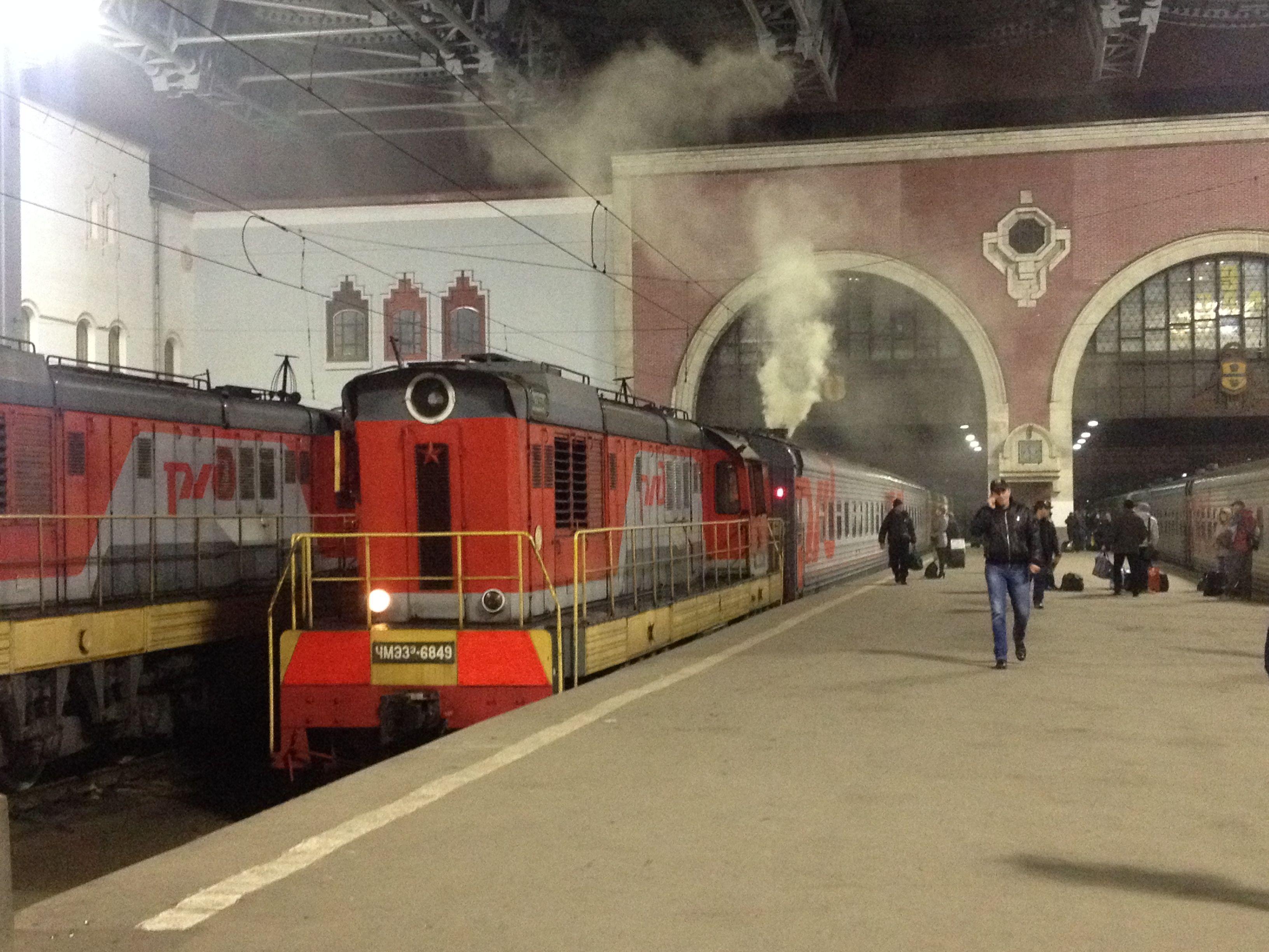 Mi primer tren ruso de larga distancia. Épico.