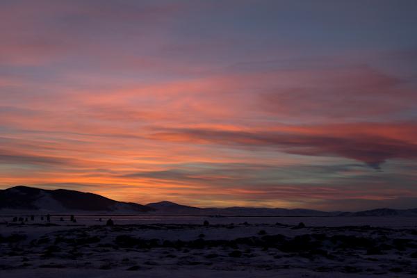 Mongolia me enamoró de sus crepúsculos.