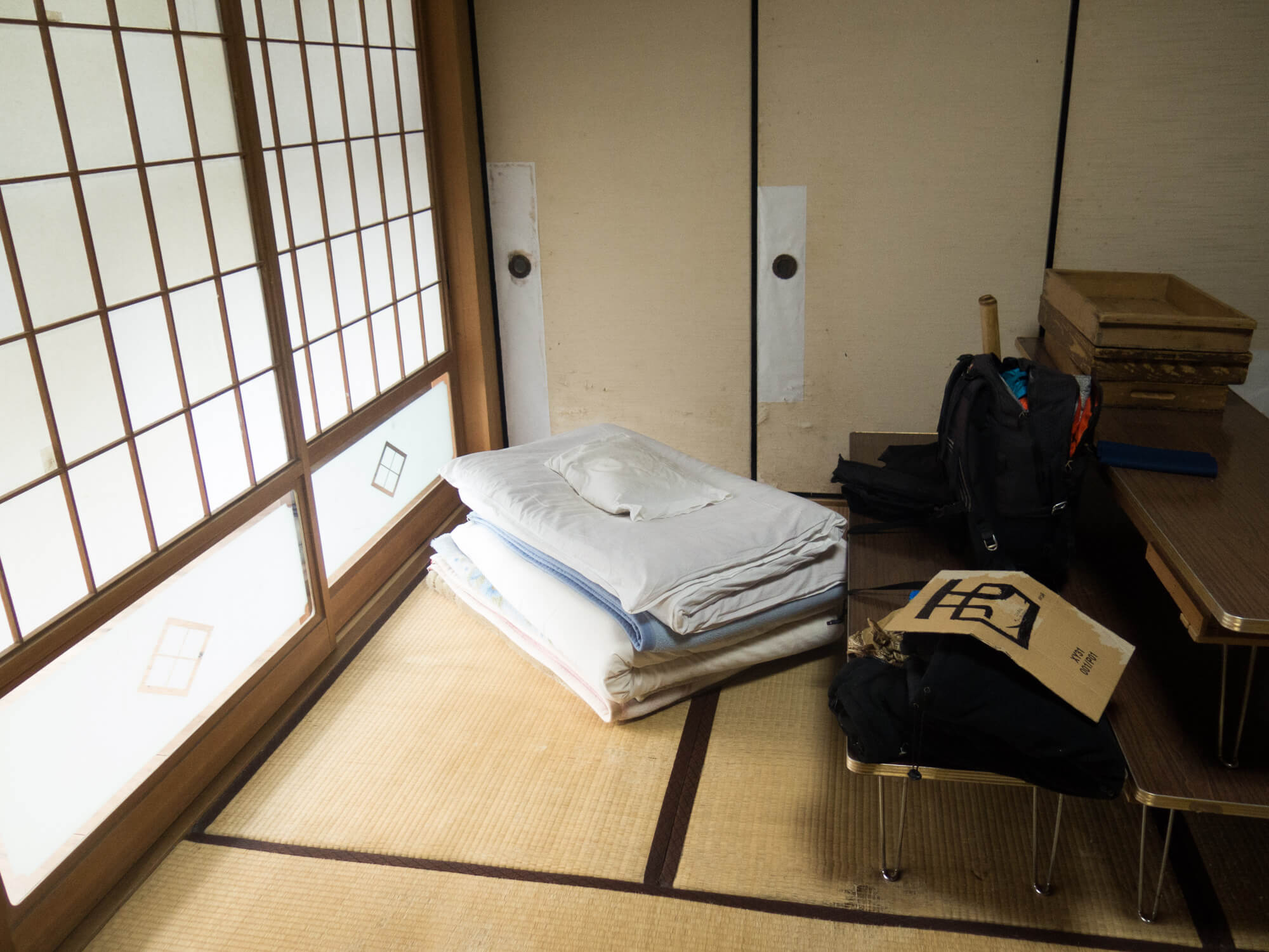 Mi habitación en Bukkokuji