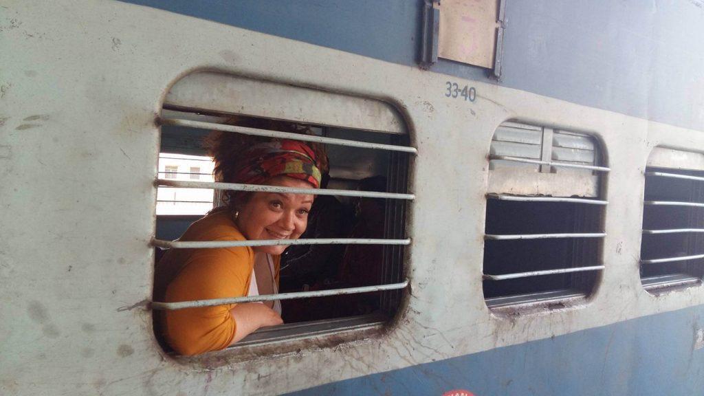 Mi primer tren en India!
